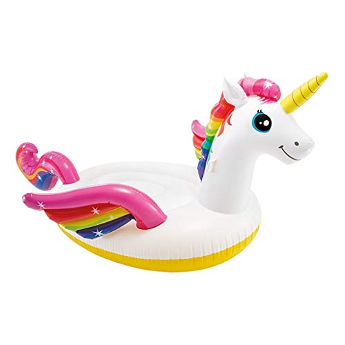 SUN HUIJIE Unicorn Pool Float Party Tube - Inflatable Rafts, Adults & Kids Swimming Pool (Size : 287193165cm) by SUN HUIJIE (Image #4)