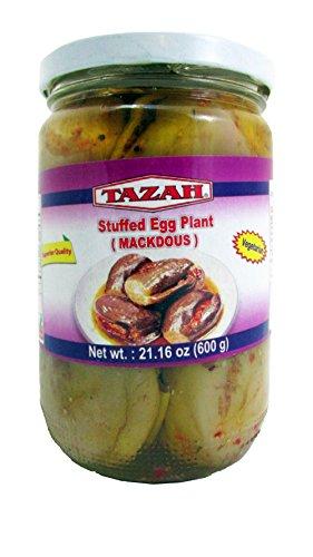 Tazah Stuffed Eggplant (Mackdous) 1 Kg / 35.3 Oz