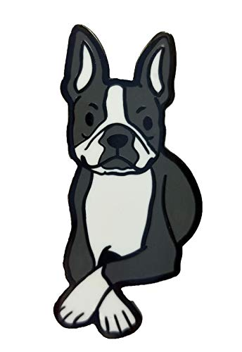 Dark Spark Decals Boston Terrier Dog 1.75