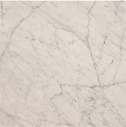 Italian Select Marble Floor Tile 12x12 Bianco Carrara Carrera
