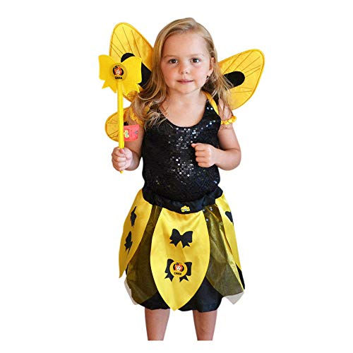 - Wiggles Emma Wings Costume (Skirt/Wand/Wings)