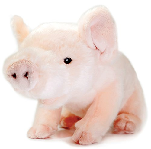 Baby Costumes In Walmart (Perla the Pig | 11 Inch Stuffed Animal Plush Piglet | By Tiger Tale Toys)