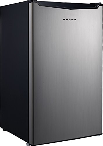 Amana AMAR46S1ET 4.6 cu. Ft. One Door Compact Refrigerator, Stainless Steel