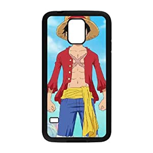 Samsung Galaxy S5 Cell Phone Case Black Luffy Phone cover E1357353