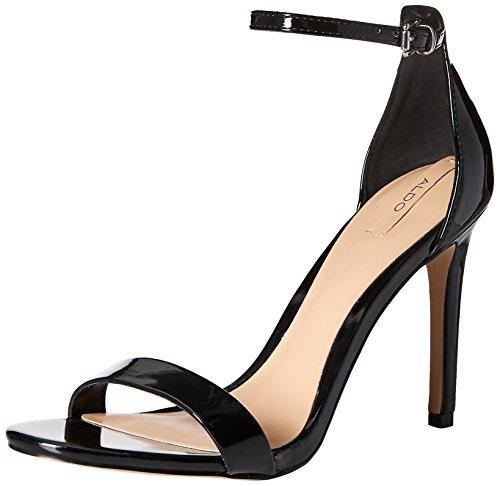 Black Aldo Women Synthetic Scorzarolo Sandal Dress rFIrz