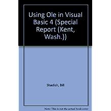 Using Ole in Visual Basic 4