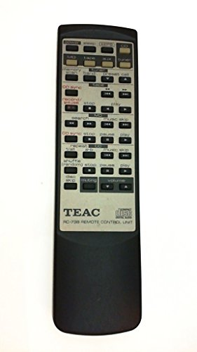 Teac RC-738 Mini Component Stereo System Remote Control for