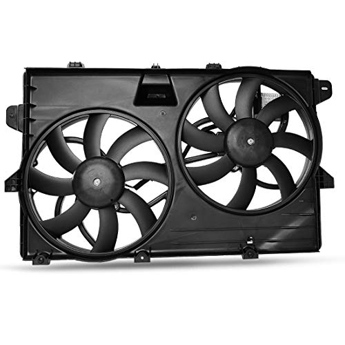 OEM Cooling Radiator Fans Assembly For Ford Edge Lincoln MKX Limited SE SEL Sport V6 3.5L 3.7L ()