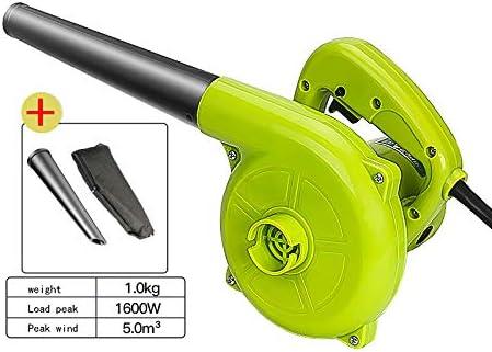 Blower Soplador eléctrico de 6 velocidades, Ventilador de Ajuste rotativo y Aspirador, Carga Viento Valor 1600-2400W-3D reducción de Ruido Tridimensional.: Amazon.es: Hogar