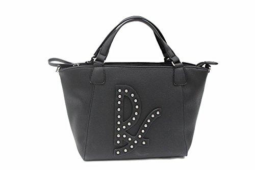 Borsa donna Regina Schrecker L.Vega mod.shopping a mano 708b003 nero
