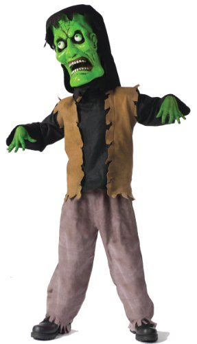 Bobble Head Monster Costumes - Bobble Head Monster Child Costume - Medium