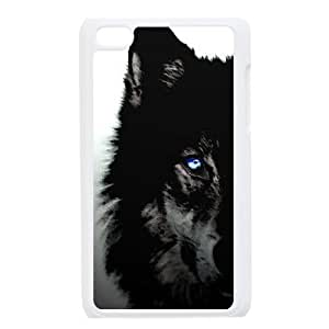 Black Wolves Custom Case for Ipod Touch 4, Personalized Black Wolves Case wangjiang maoyi