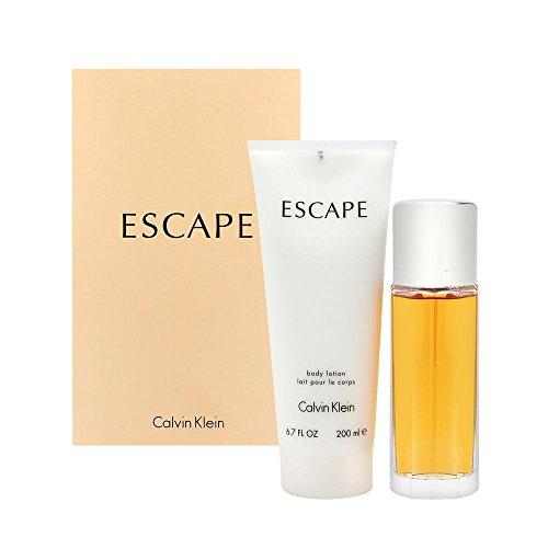 Cålvin Klėin Escåpe Perfume for Women Gift Set Includes: 3.4oz Eau de Parfum Spray & 6.7oz Body (Calvin Klein Escape)