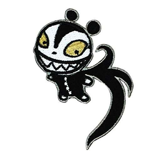 Disney Nightmare Before Christmas Scary Teddy Patch Halloween Iron On Applique ()