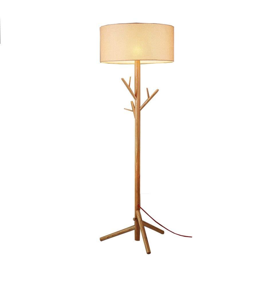 Xiao Fan ▷ Lámpara de pie Vintage Trípode Dormitorio Sala ...