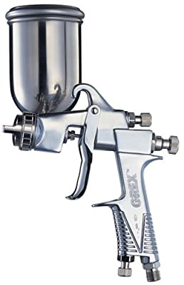 Grex X1000 Large Format Side Gravity Spray Gun, 1mm Nozzle, 100ml Cup
