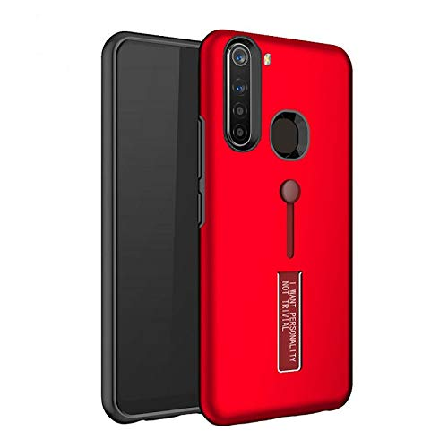 Vikeko Extreme Shock Absorption Tough Armor Case with Inbuilt Stand & Hand Holder Strap for Redmi Note 8(Red) (B07ZM3SXX9) Amazon Price History, Amazon Price Tracker