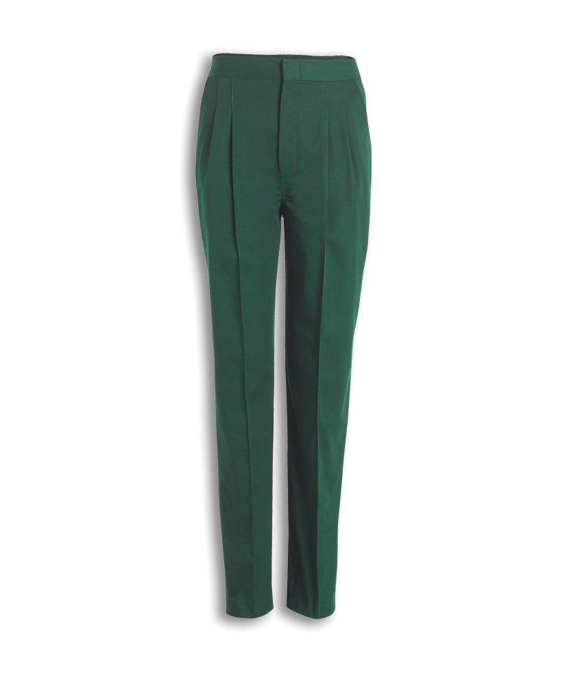 Size: 16 Alexandra STC-D310BO-16 Womens Soft-Brushed Trouser 67/% Polyester//33/% Cotton Plain Bottle Green