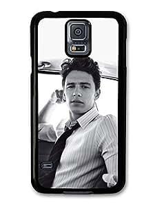 AMAF ? Accessories James Franco Actor Black & White Portrait case for Samsung Galaxy S5