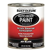 Auto Body Paint, Jet Black, 1 Qt. by Rust-Oleum