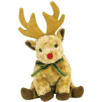 Ty Beanie Babies Rudy the Reindeer May 22, 2003 Retired [Toy] - Retired Beanie Babies