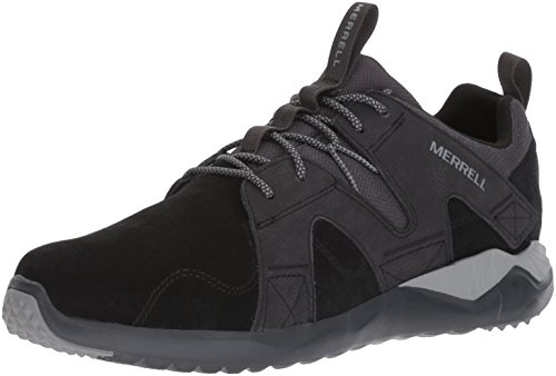 Merrell Men 1SIX8 Lace LTR Fashion Sneaker Black