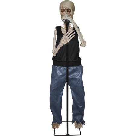 Halloween Decoration Singing and Dancing Animated Skeleton Model#40295A]()