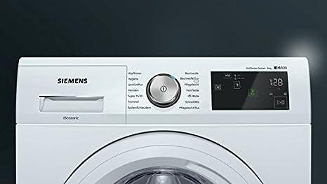 Siemens iQ500 WM14T5EM Independiente Carga frontal 8kg ...