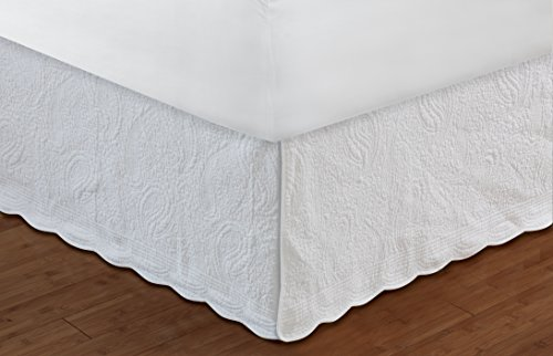 (Greenland Home GL-1404AF 18-Inch Paisley Bed Skirt, Full)