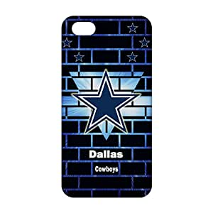 Ultra Thin NFL Dallas Cowboys 3D Phone Case for iPhone 5s
