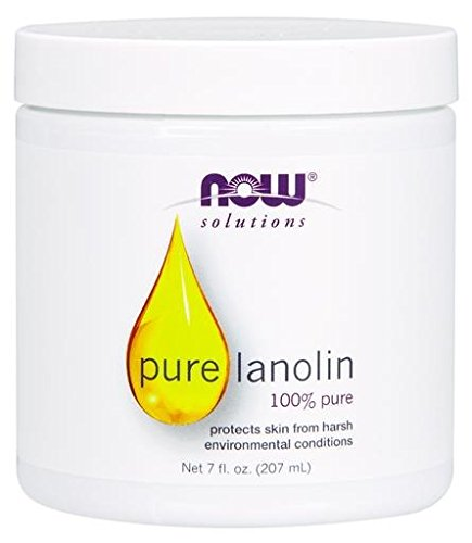 NOW Solutions Lanolin Pure, 7-Ounce