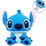 niceEshop(TM) 8GB Cute Cartoon Stitch Shaped USB Flash Drive / Memory Stick -Blue