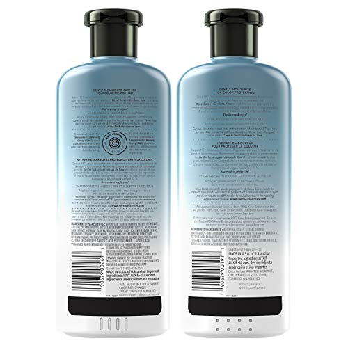 Amazon Com Herbal Essences Sulfate Free Shampoo And Conditioner Kit With Natural Source Ingredients Biorenew Birch Bark Extract Color Safe 13 5 12 2 Fl Oz Kit Beauty