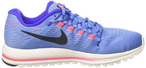 Nike WMNS Air Zoom Vomero 12, Chaussures de Course Femme, Multi-Coloured Bleu (Polar/Black/Paramount Blue/Aluminum/Hot Punch)