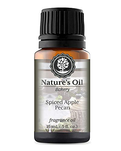 Spiced Apple Pecan Fragrance Oil (15ml) For Diffusers, Soap Making, Candles, Lotion, Home Scents, Linen Spray, Bath Bombs, Slime