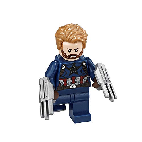 LEGO Avengers - Infinity War: Captain America with Beard Minifigure 2018