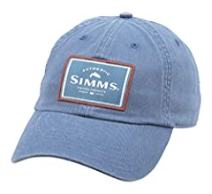 Keep your mind focused on where it should (mostly) be - fishing - with this classic fishing cap.