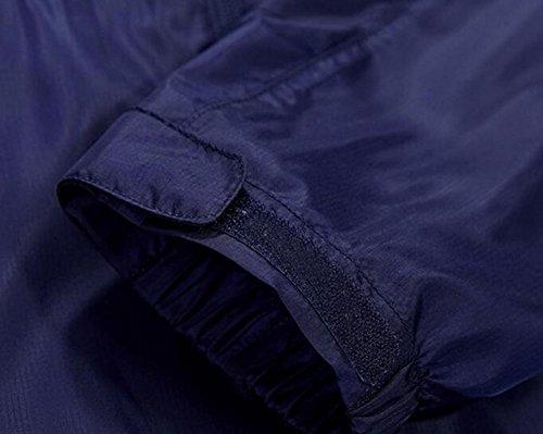 Vento Essiccazione Upf30 Maschile Contro Pelle A Sottile Giacca Grey Outdoor xaxIq7wR8