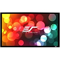 Elite Screens Sable Frame, 138-inch 2.35:1, Fixed Frame Home Theater Projection Projector Screen, ER138WH1-Wide
