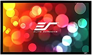 Elite Screens Sable Frame, 110-inch 16:9, Fixed Frame Home Theater Projection Projector Screen, ER110WH1
