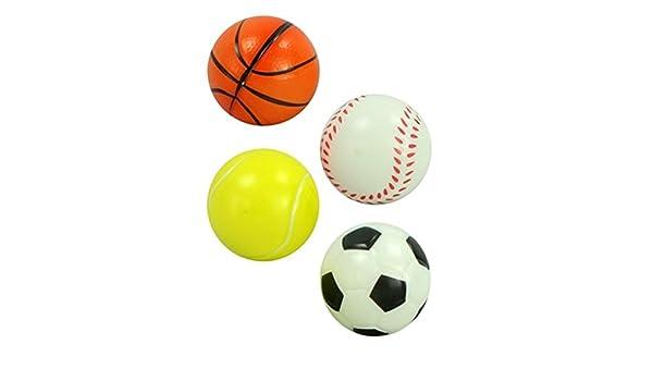 4stk   estrés pelota en mini Sport Diseño Anti estrés pelotas para ...