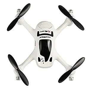 Hubsan H107D+ FPV X4 Plus Quadcopter with FPV Camera (White)