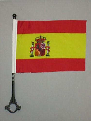 AZ FLAG Bandera de Bici de ESPAÑA 21x14cm - BANDERINA de Bicicleta ...