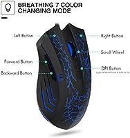 HAVIT HV-MS672 3200DPI Wired Mouse 4 Adjustable DPI Levels 800//1200//2400//3200D