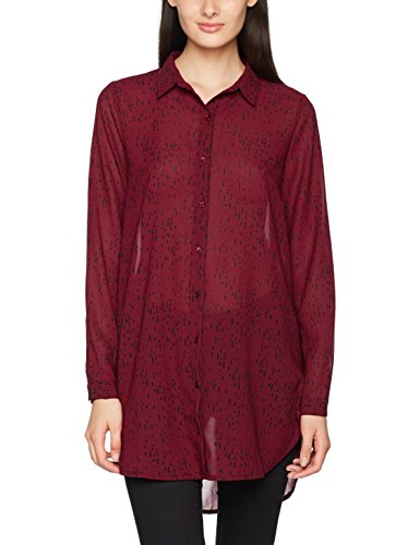 Rouge Red 16600 Oxblood ICHI Blouse Femme Un6qUOE