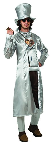 [Rubie's Costume Men's Wizard Of Oz 75Th Anniversary Adult Steampunk Tin Man, Silver, Standard] (Punk Fairy Costumes)