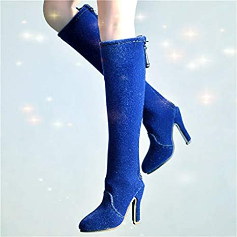 High-heel Shoes boots Model For 1//6th Female Phicen PL2013-25 Figure Accessory