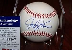 Jody Davis Autographed Baseball - w COA - PSA/DNA Certified - Sports Memorabilia