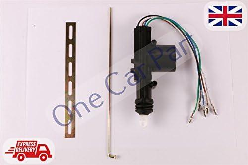 Centrale de verrouillage de la porte moteur//solénoide//cinq wire