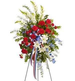 Funeral Flowers - Scared Duty Spray